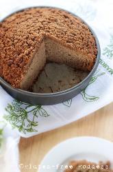 Applesauce Crumb Cake Recipe with Cinnamon