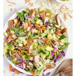 searchable recipe database hawaiian salad with pineapple chicken