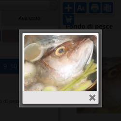 Fondo di pesce