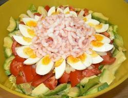 Crab or shrimp Louis salad